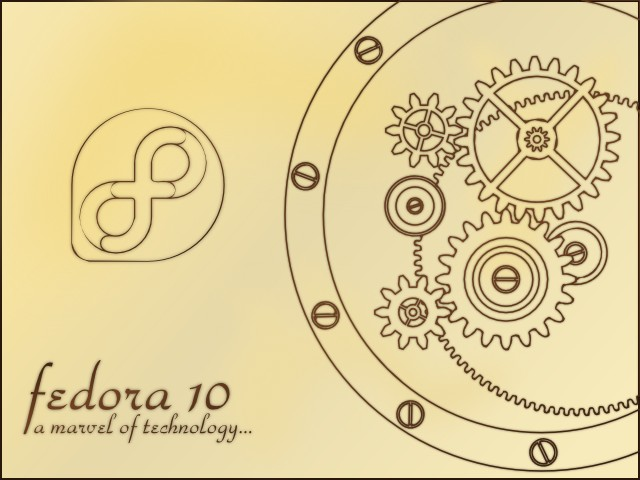 [fedora 10 clockwork]