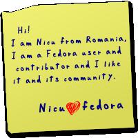 [post-it <3 fedora]