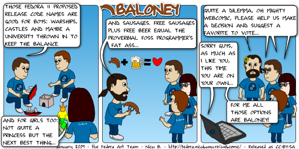 [fedora webcomic: baloney]