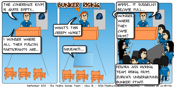 fedora webcomic bunker rising