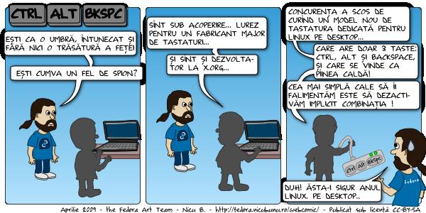 [webcomic fedora: ctrl + alt + backspace]