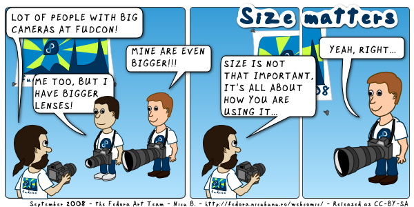 [fedora webcomic: size matter]