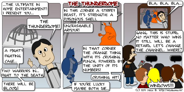thunderdome - retarded gnome